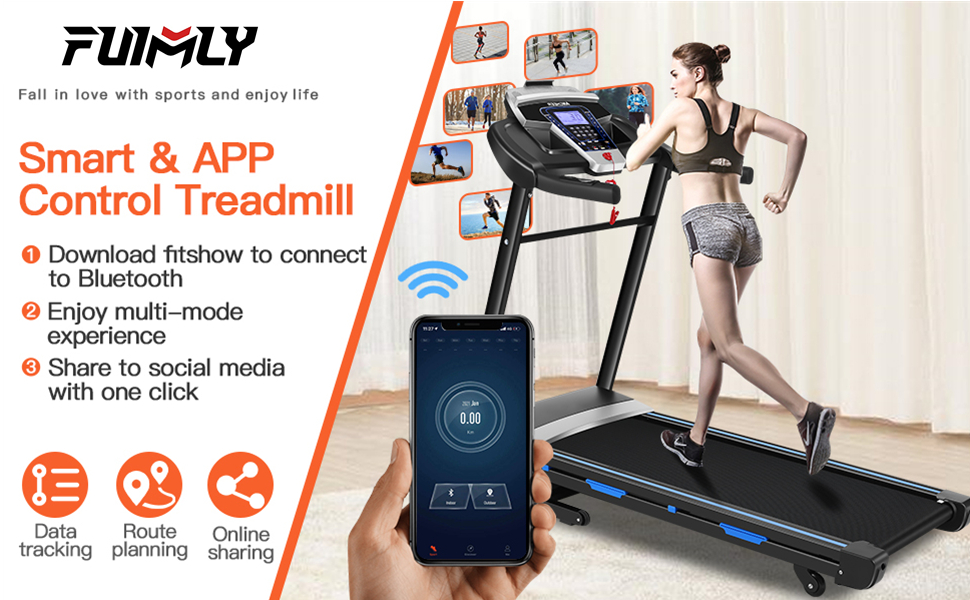 folding treadmill home