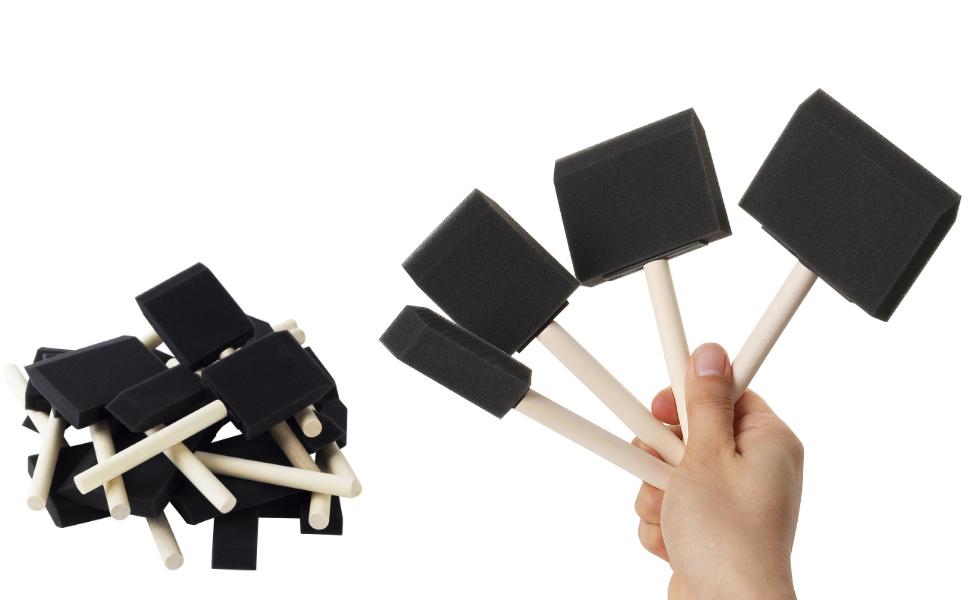 Bates- Foam Paint Brushes