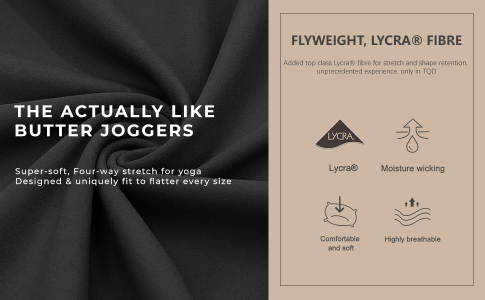 Joggers for Women with Pockets, High Waisted Tapered Womens Joggers Yoga Pants