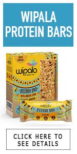 banana wipala crunchy protein quinoa vegan organic 12 count ecuador