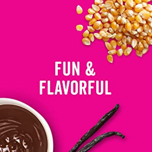 Dig into a bag of Angie's BOOMCHICKAPOP Kettle Corn for fun and flavor