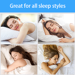 Designed for Various Sleeping Positions