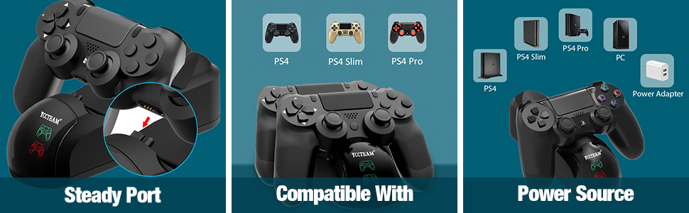 ps4 wireless controller charger