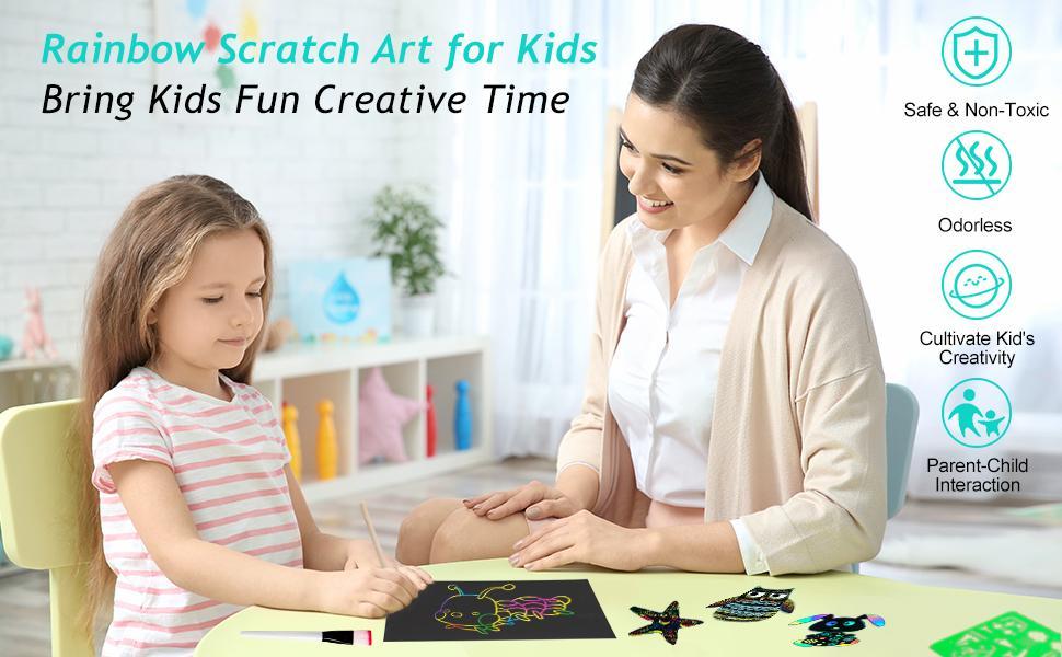 Scratch Art for Kids