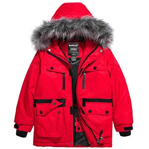 boys ski parka jacket