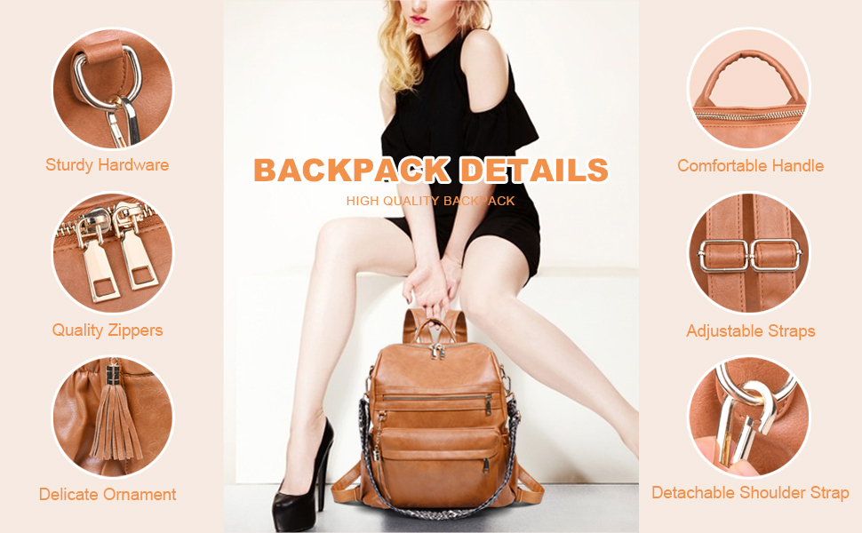 C COOLAND Women Backpack