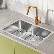Sink Grid Small Size for Double Sink Bowl