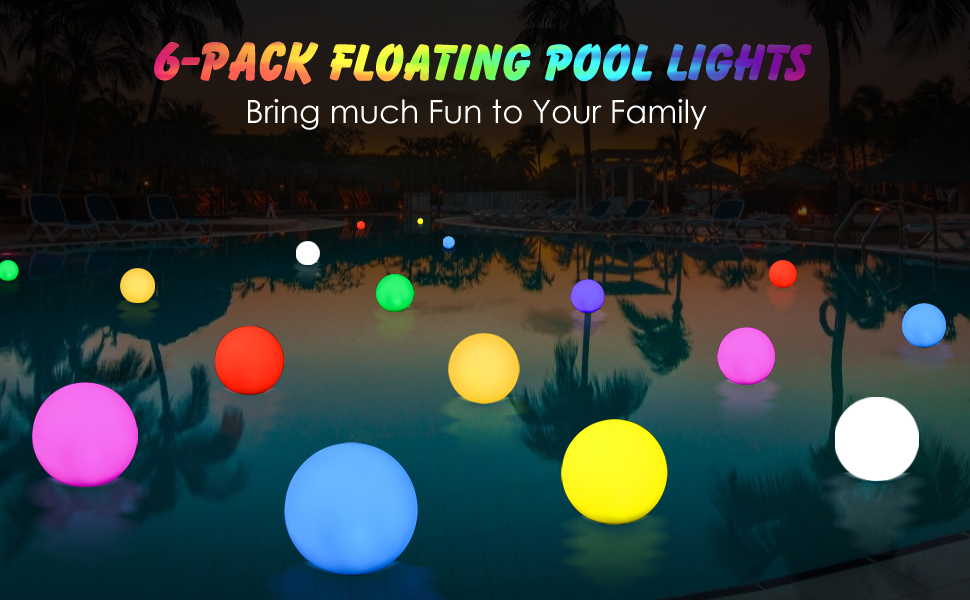 pool decorations outdoor