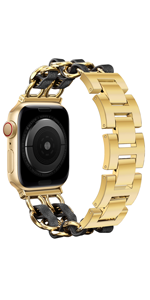 For apple watch Band  Classic Elegance Bracelet Gold
