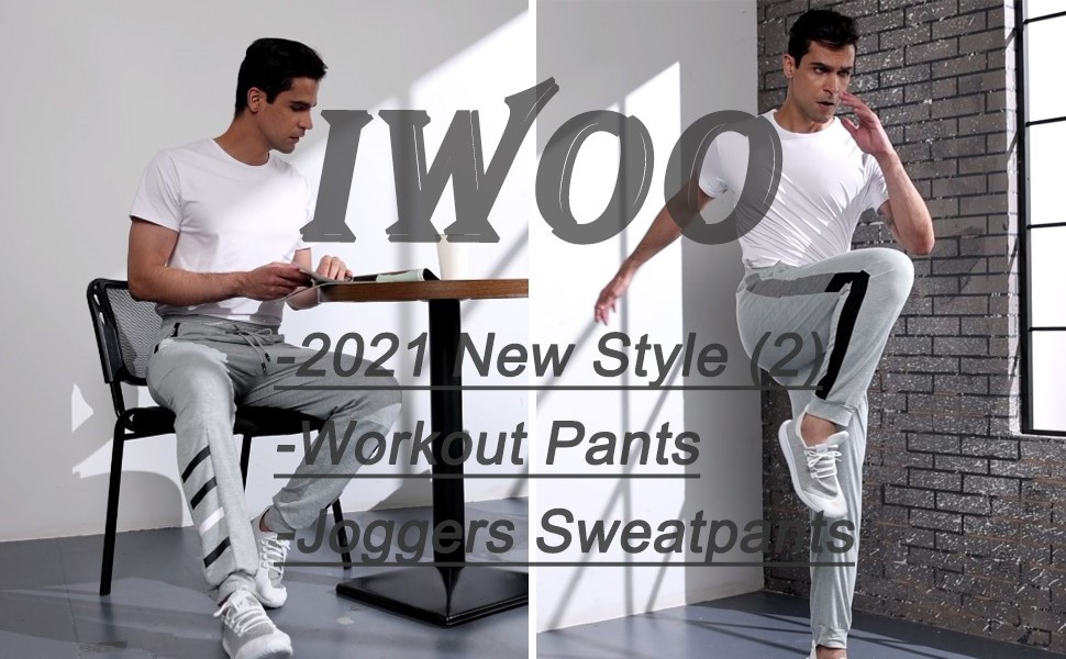 iWoo joggers pants for men