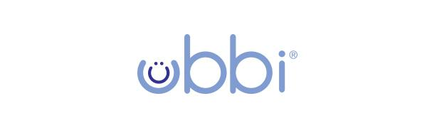 Purple Ubbi logo on white