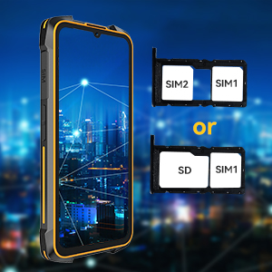 4G dual SIM rugged phone
