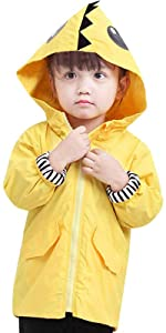 Baby Cartoon Duck Raincoat