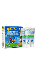 pet test energy boost SOS for pets dogs and cats glucose fast-acting raises blood sugar quickly