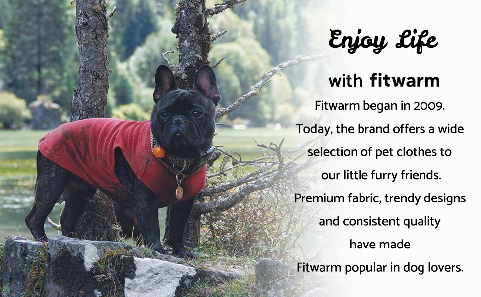 fitwarm dog clothes