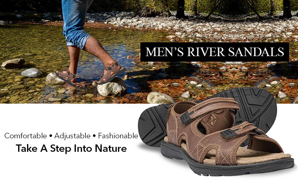 Men's river sandals