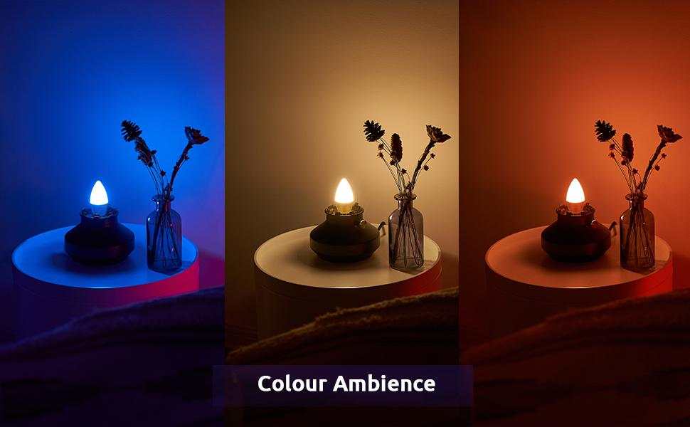 e12 color changing bulb