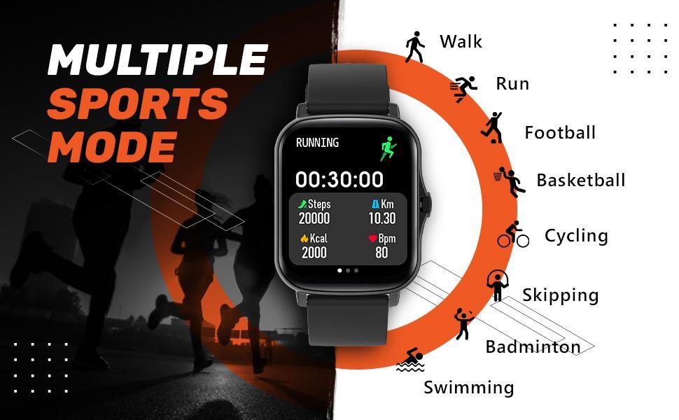 Multi sports watch