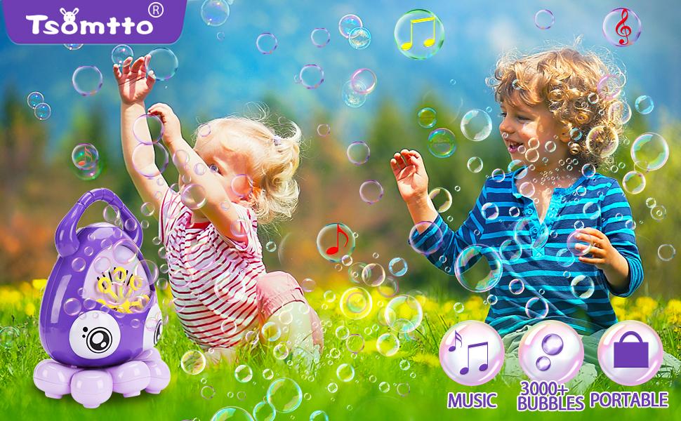 tsomtto bubble machine