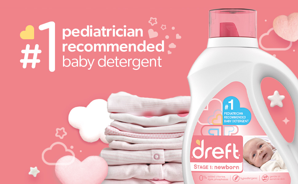 #1 pediatrician recommended baby detergent