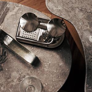 Le Carbonator 3 machine à eau pétillante dans une finition Acier classique.