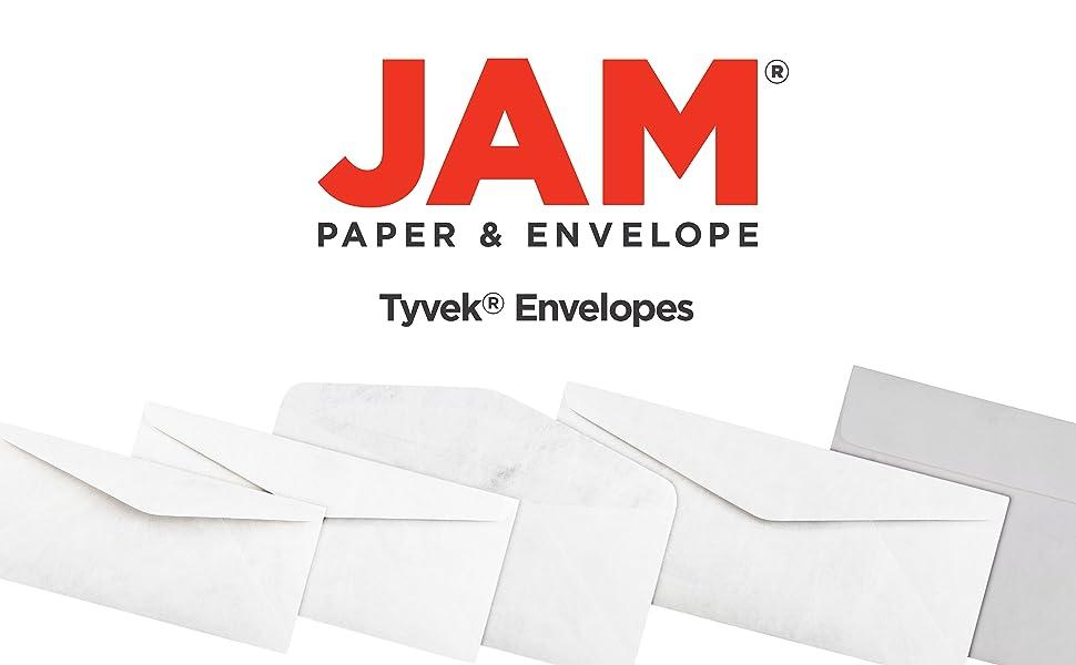 jam paper white tyvek envelopes