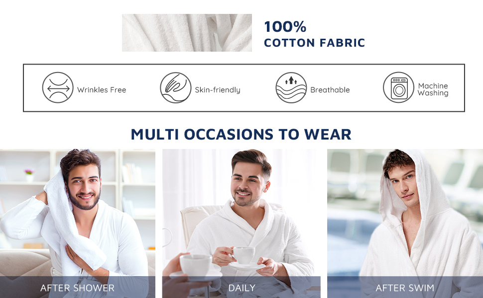 MULTI OCCASIONS TO WEAR  After Shower Daily After Swim