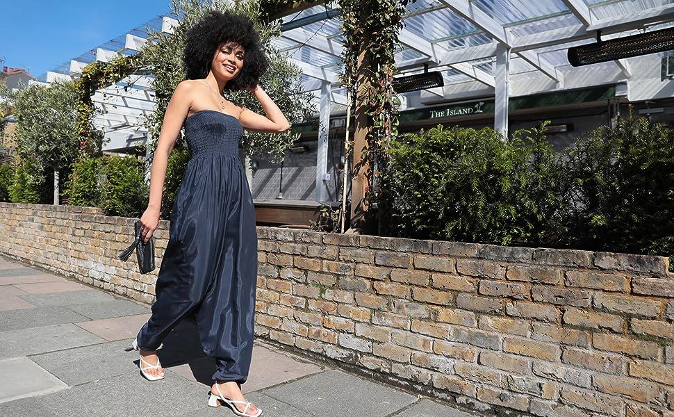 harem jumpsuits for women harem pants women harem jumpsuit strapless jumpsuit women casual summer