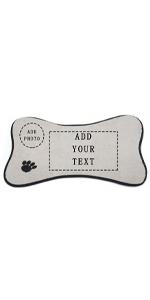 Custom dog/cat feeding mats