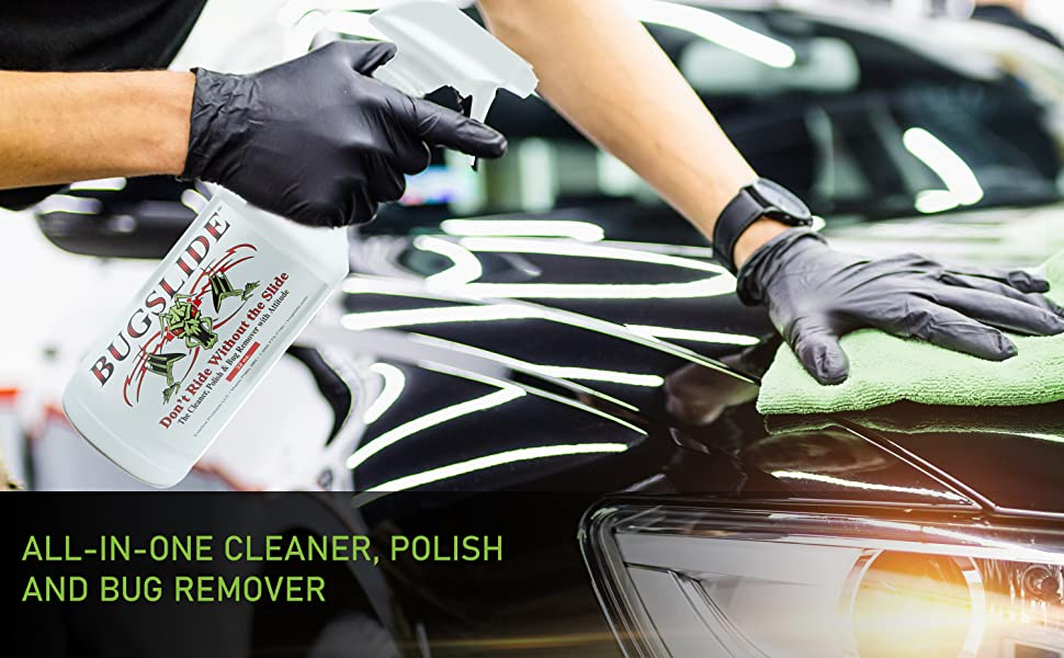 All-in-one Cleaner, Polish and Bug Remover
