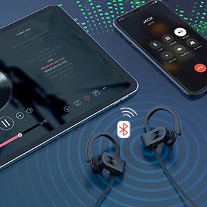 wireless earbuds Wireless Headphones  Wireless Sports Earphones running workout
