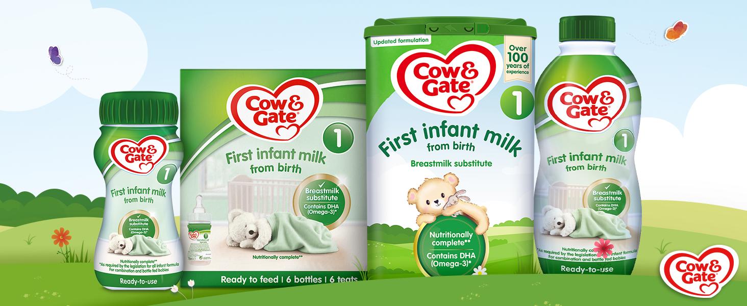 C&G First Milks Range