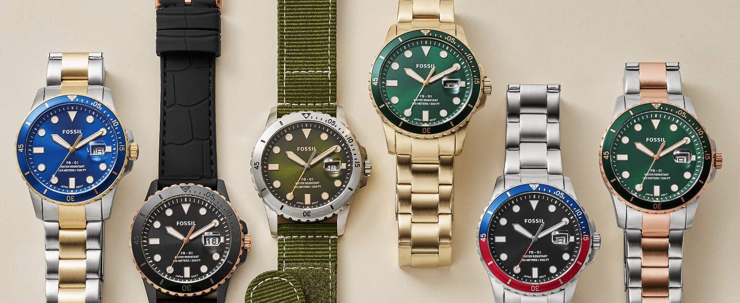 FOSSIL FB - 01 WATCHES