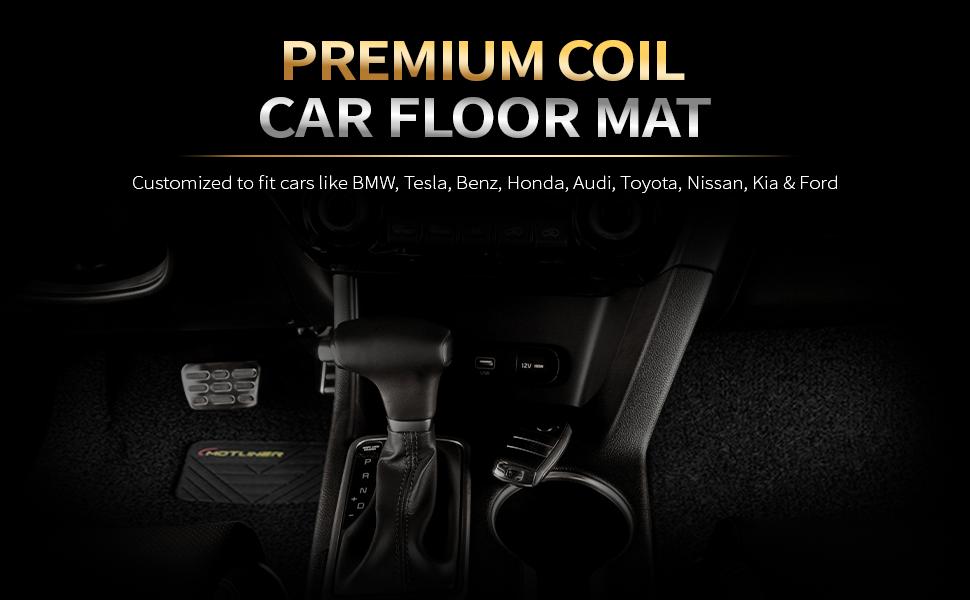 premium coil car floor mat