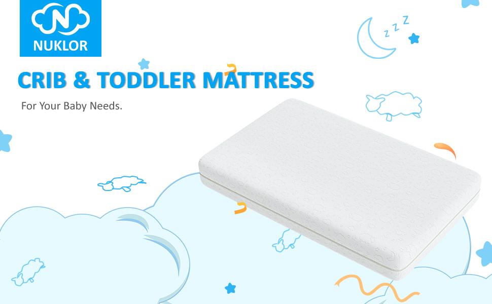 crib amp; toddler mattress