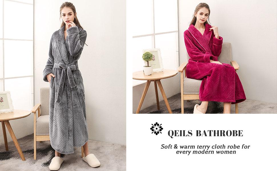 Womens Terry Cloth Robe