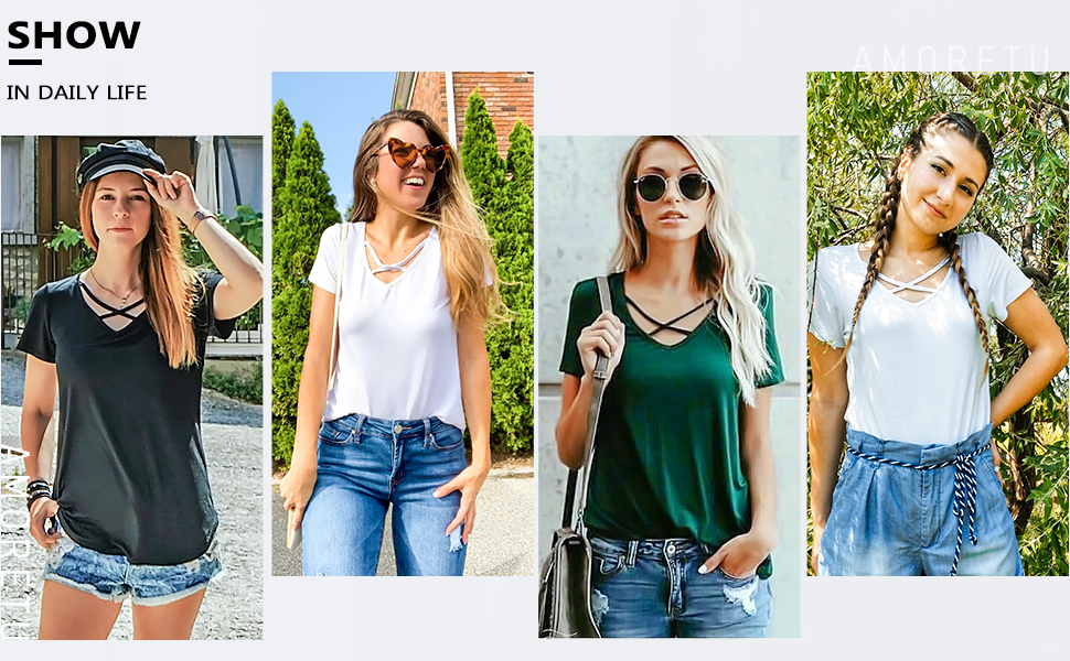 sexy chic solid tee shirts