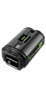 40V 4.0Ah Lithium Battery for Ryobi OP4040 OP4026A OP40201 OP40261 OP4030 OP40301 OP40401
