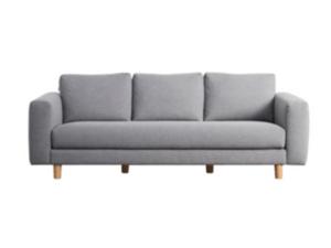 denim couch