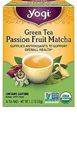 yogi green tea passion fruit matcha