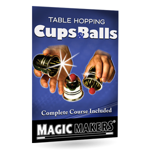 Table Hopping Cups and Balls