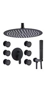 """16""""  Round  shower System"""