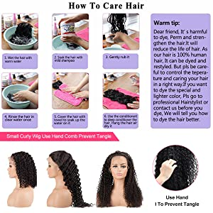 How to wash your deep curly human hair wig
