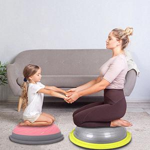 small half ball and massage balance ball
