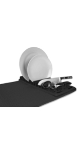 cuisinart dish drying mat with rack