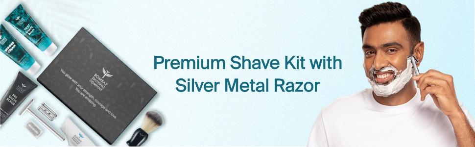 6-in-1 Shaving & Grooming Kit for Men