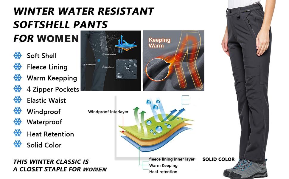 thinsulate pants women cold weather camping gear lightweight women ski pants golf pants garden work
