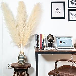 BQS Premium Pampas makes your home office pop