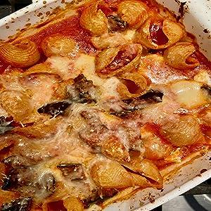 Faella Tofe Cheese and Tomato Sauce Dish