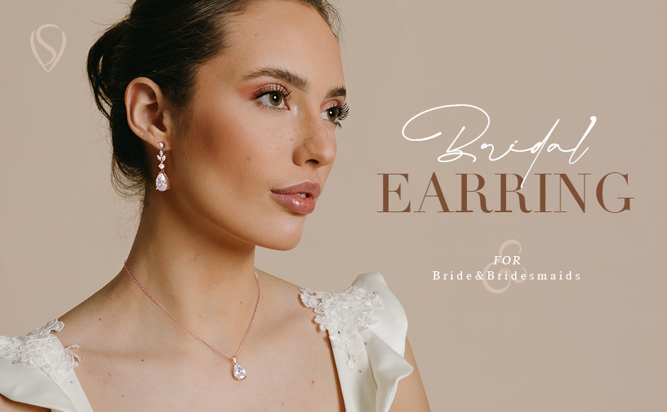 SWEETV Wedding jewelry for bride
